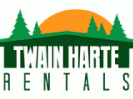logo saying Twain Harte Rentals