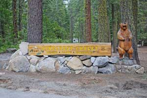 Pinecrest Chalet sign