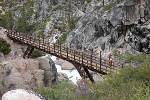 Bridge on the Relief Reservoir Trail