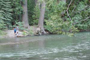 photo of fishing at Kennedy Meadows